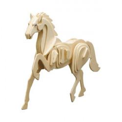 Puzzle en bois : Le cheval