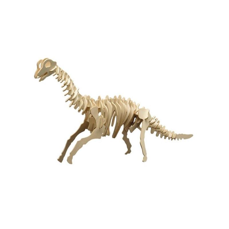 Puzzle en bois : Le brachiosaure