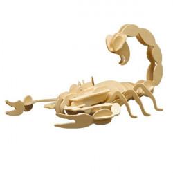 Puzzle en bois : Le scorpion
