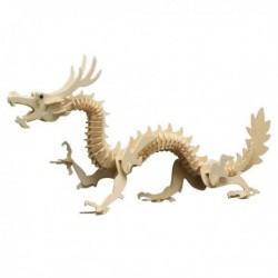 Puzzle en bois : Le dragon chinois
