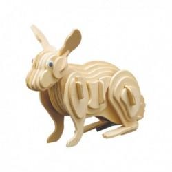 Puzzle en bois : Le lapin