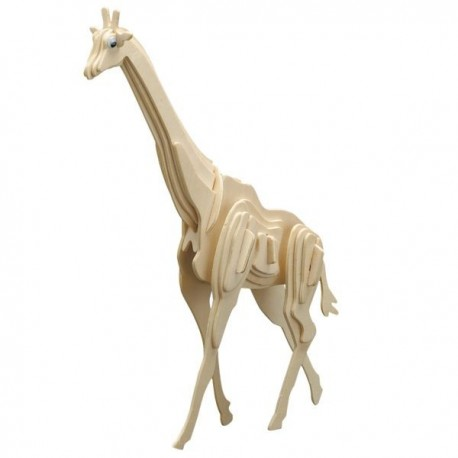 Puzzle en bois : La girafe