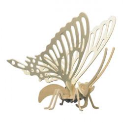 Puzzle en bois : Le papillon