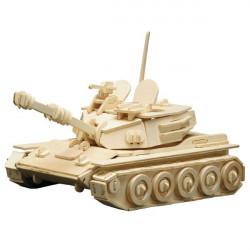 Puzzle en bois : Le tank