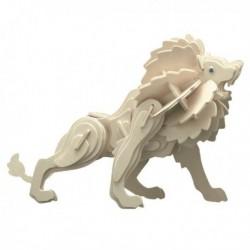 Puzzle en bois : Le lion