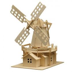 Puzzle en bois : Le moulin à vent