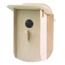 Véritable nichoir en bois à monter