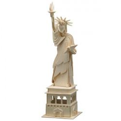 Puzzle en bois : La Statue de la Liberté