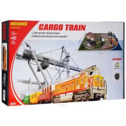 """Coffret de Train """"Cargo Train"""" avec décor"""