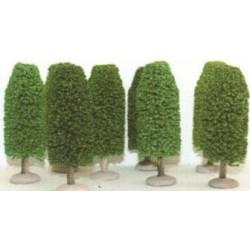 Boite de 3 arbres ovales