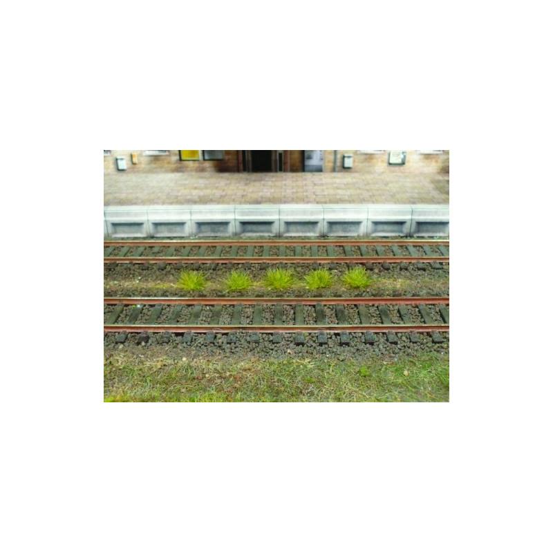 100 touffes d'herbes printemps - 6 mm
