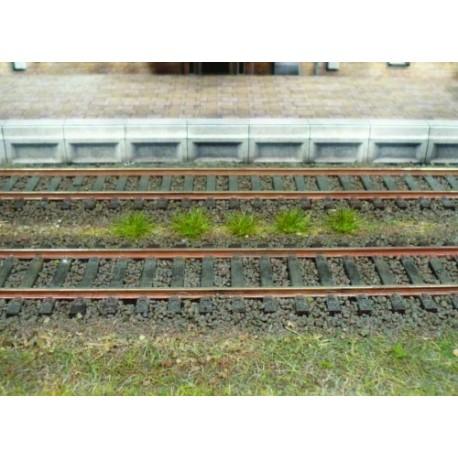 100 touffes d'herbes été - 6 mm