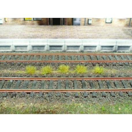 100 touffes d'herbes automne - 6 mm