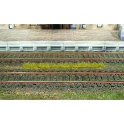 10 bandes d'herbes automne - longueur 100 mm