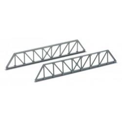 Sachet de 4 éléments de pont ferroviaire - Longueur 142 mm