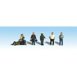 Échelle HO : Ouvriers très fatigués