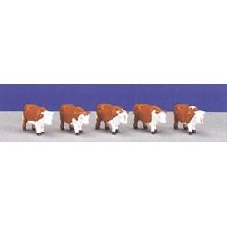 Echelle 0 : 5 vaches