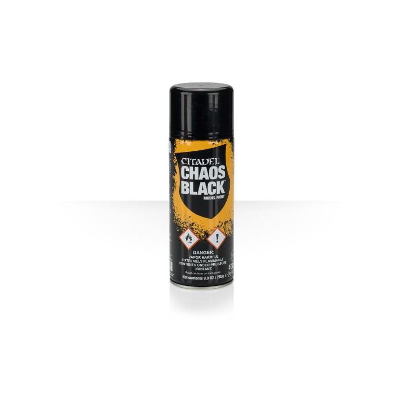 Sous-couche Spray Chaos Black