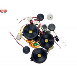 Pièces de speakers et microphones 20 pcs.