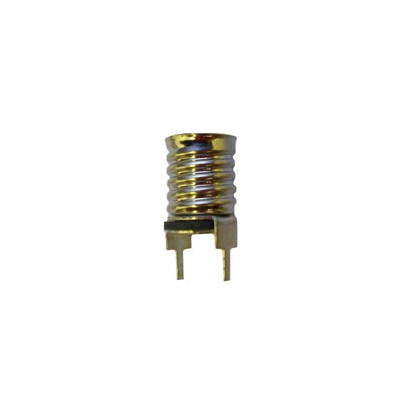 Douille version circuit imprimé pour ampoule à culot E10