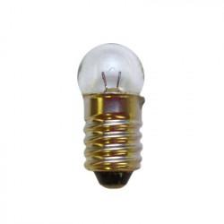 Ampoule à culot E10 de 10mm 2,5V / 0,1 A / 11mm