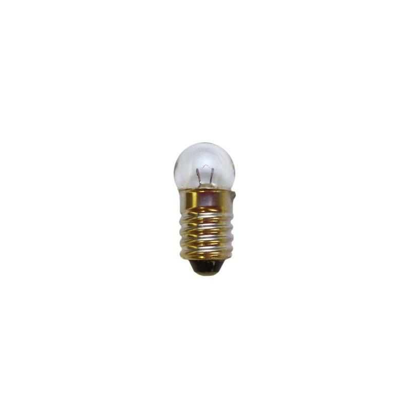 Ampoule à culot E10 de 10mm 4,5V / 0,2 A / 11mm
