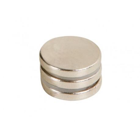 Lot de 3 aimants diamètre 18 mm épaisseur 3 mm