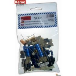 Condensateurs électrolytiques - Environ 50 pièces