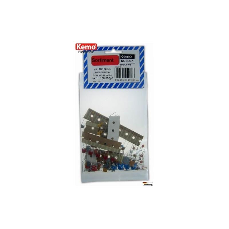 Condensateurs céramiques - 100 pièces