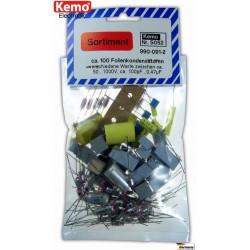 Condensateurs électrolytiques aluminium - Environ 100 pièces