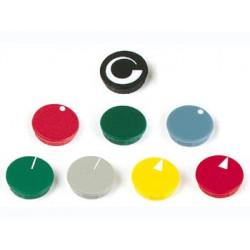 Capuchons pour Boutons de 10mm (couleur noir)
