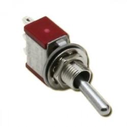 Interrupteurs à 3 positions (M)/A/(M) - 1 pôle