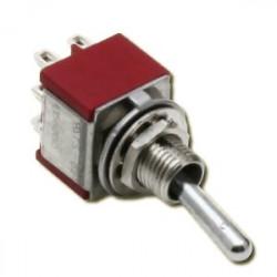 Interrupteur à 3 positions M/A/M - 2 pôles