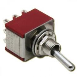 Interrupteur à 3 positions M/A/M - 3 pôles