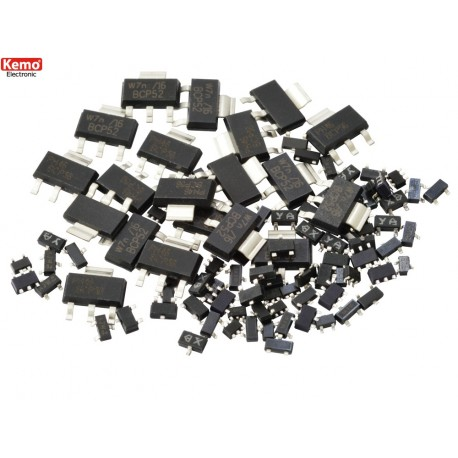 Set de 100 Transistors CMS assortis