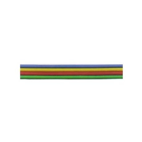 Câble méplat souple à 4 fils de couleur 0,14mm²