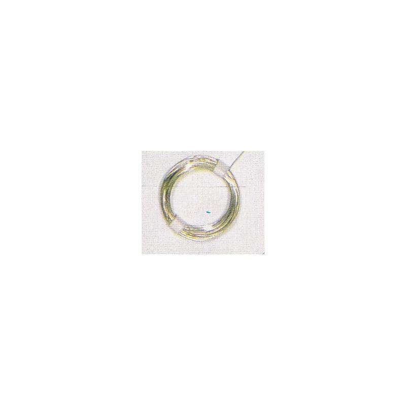 Fil de cuivre étamé rouleau de 10m - Ø 0,8 mm non isolé