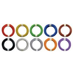 Fil de câblage souple Ø extérieur : 1mm -10m