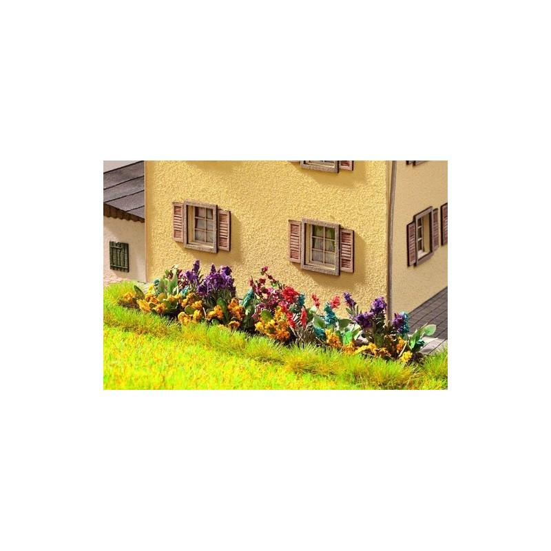 HO/ Laser-Cut minis jardin fleuri