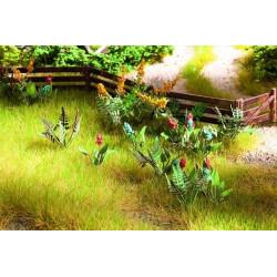 HO/ Laser-Cut minis fleurs des prés et des champs