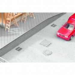HO/ Laser-Cut Plaques d'égout