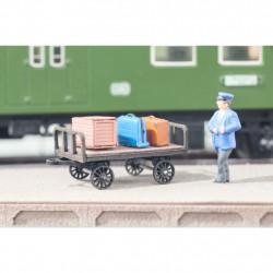 HO/ Laser-Cut Chariot à bagages