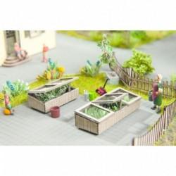 HO/ Laser-Cut minis Chassis de jardin