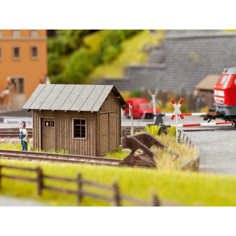 HO/ Laser-Cut Petite maison de voie