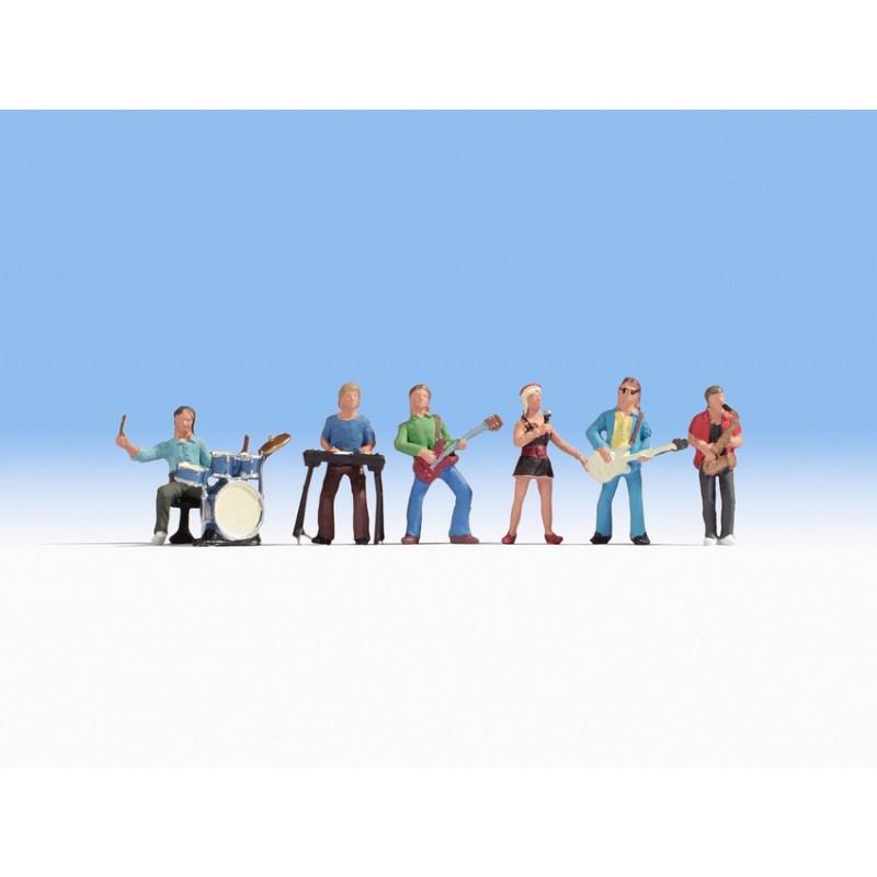 6 figurines de musique NOCH 15839