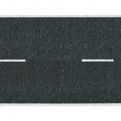 HO/ Route goudronée noire