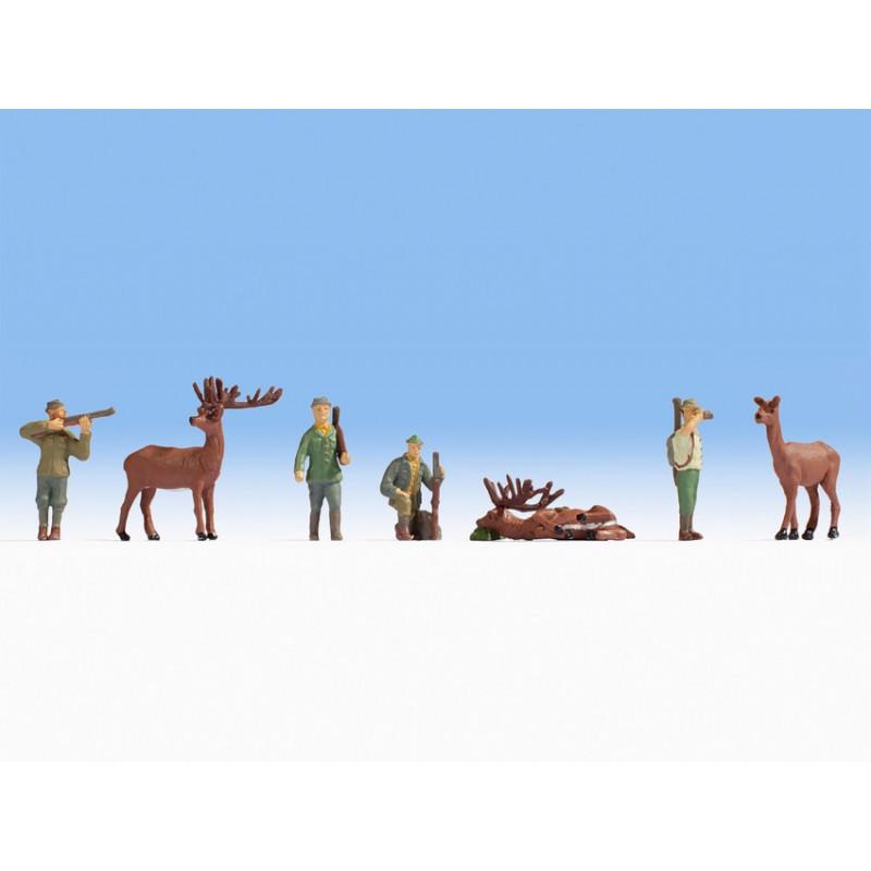 HO/ Scène de chasse