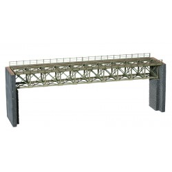 HO/ Laser-Cut Pont d'acier
