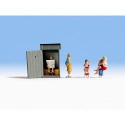 N/ Toilettes : 5 figurines + accessoires