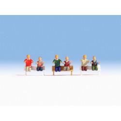 HO/ Conducteurs (sans jambes, sans bancs)